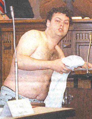 Jan Teijn in de gemeenteraad