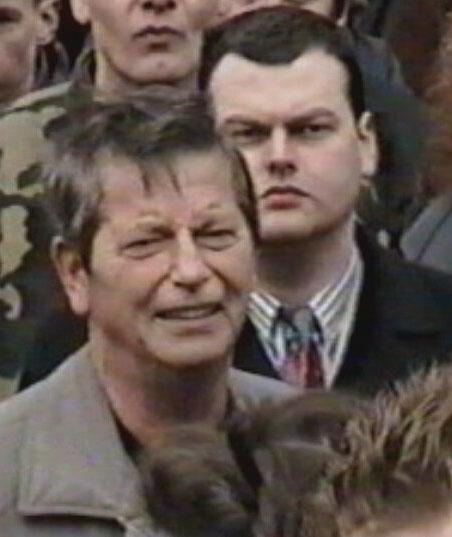 Jan Teijn op demonstratie in Zwolle