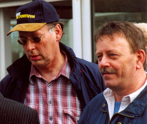 Jan Landman (rechts)