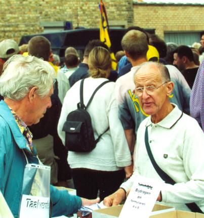 Lindenburg op Yzerbedevaart in Vlaanderen, 2000
