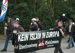 NVU demonstratie Enschede, 2011