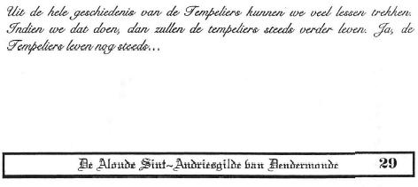 """""""De Tempeliers"""" van Kris Roman"""