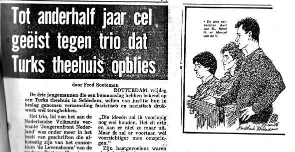 JFN berichtgeving aanslag Turks theehuis, 1986