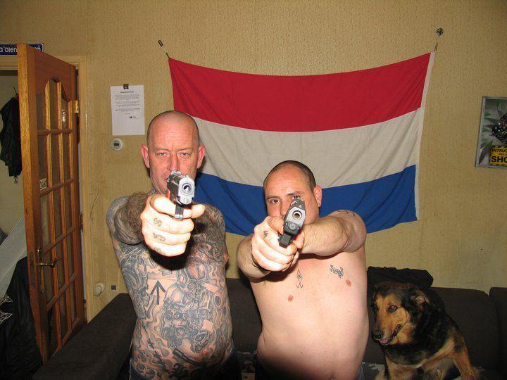 Robert Jan Koelewaard en Mike Brand, NVU-leden, 2011