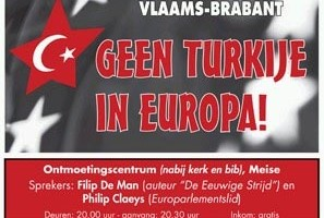 Poster bjeenkomst Committee No to Turkey