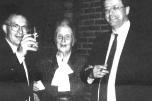 Hans Janmaat, Rost van Tonningen en Wim Vreeswijk