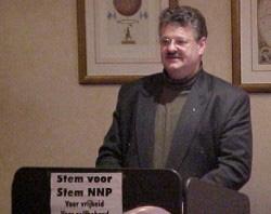 Ruitenberg op NNP-vergadering