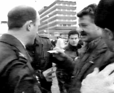 Ruitenberg in gesprek met politie