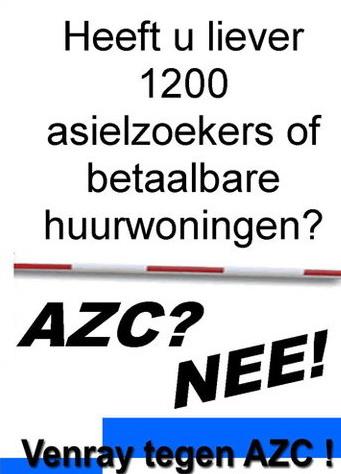 AZC Nee pamflet Venray