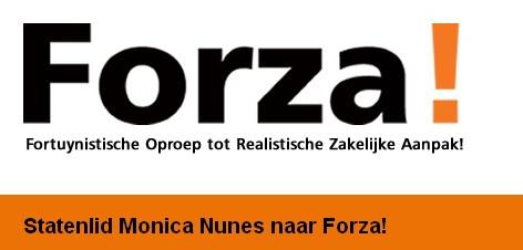 Forza! kondigt Nunes aan als aanwinst