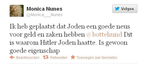 Nunes pleit zichzelf via twitter vrij van antisemitisme