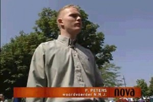Paul Peters as NNJ activist in the current affairs program NOVA