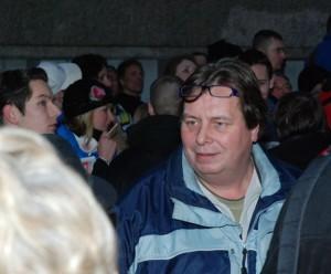 Wim Elsthout op PVV manifestatie, 2010
