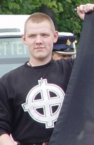 Tom Beune bij  demonstratie Nationale Alliantie te Utrecht, juni 2004004
