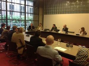 Vertegenwoordigers van Orania op bezoek bij PVV, april 2013