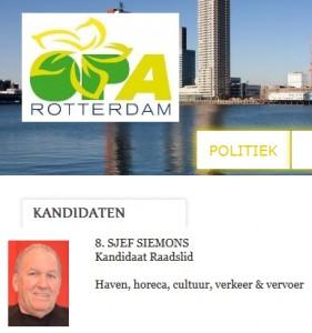 OPA kandidaat Siemons bezocht congres Vlaams Belang