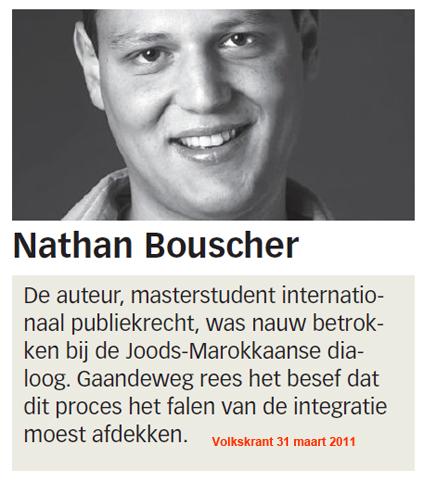 Nathan Bouscher vond het jammer dat de moordenaar van Fortuyn geen moslim was