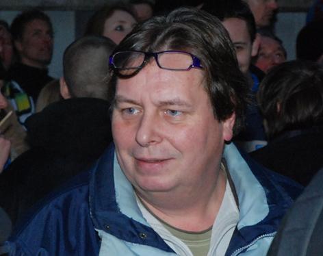 Wim Elsthout op PVV manifestatie, 20 januari 2010, Amsterdam