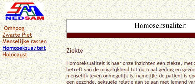 PVU ondersteuner Van Asperen vindt homoseksualiteit een ziekte