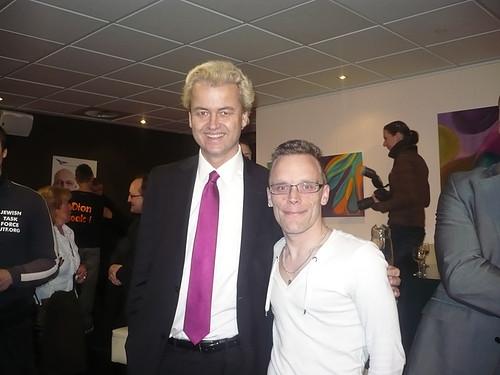 Partij voor Soest kandidaat Van Rijn en Wilders