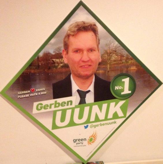 Uunk voert campagne