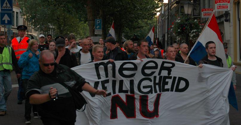 Voorpost protestmars 18 september 2009, Gouda