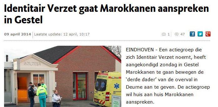 Screenshot Eindhovens Dagblad