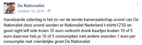 nationalist drankgeld