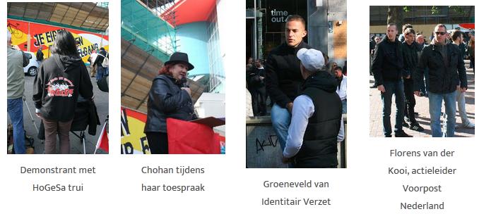 Patriotische Europäer gegen die Islamisierung des Abendlandes Niederlande Utrecht