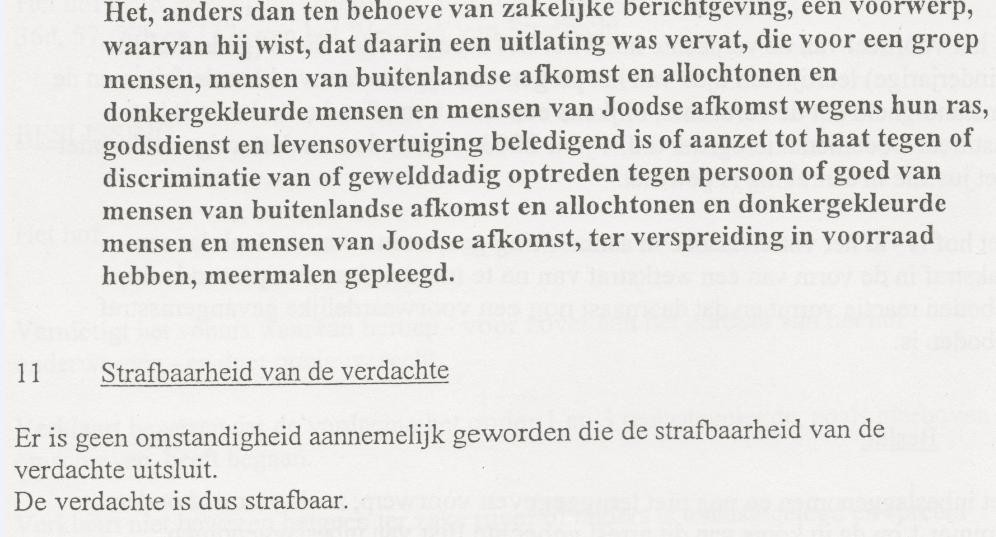 Sentencing Jasper Velzel, 24 juni 2003