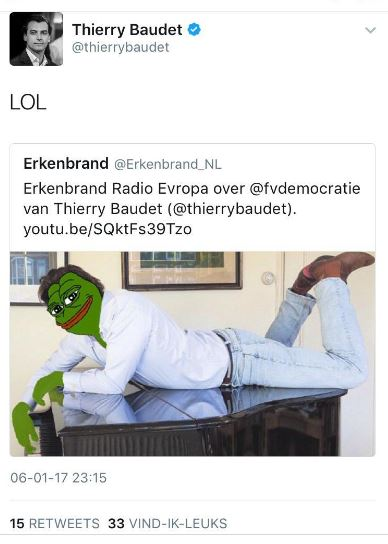 Baudet retweet Erkenbrand