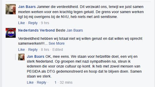 Jan Baars van Forza! over DTG en Pegida