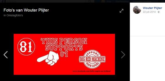 Forza!-kandidaat Wouter Plijter steunt Hells Angels