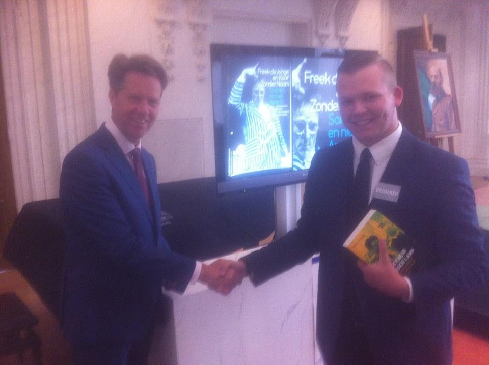 Martin Bosma PVV en Jan Menger Nieuw Goes, mei 2015 Den Haag