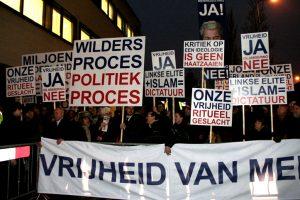 PVV manifestatie Amsterdam 2010