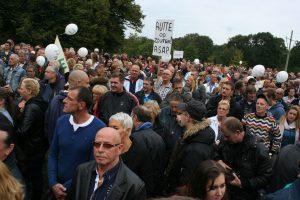 Manifestatie PVV Den Haag 2013