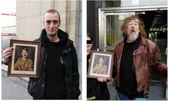 Hendrickx en Vanleuven eren Hitler, 2015