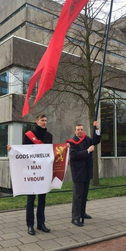 Civitas Christiana in actie te Nijmegen, maart 2019