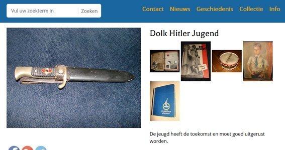 Screenshot website Advox