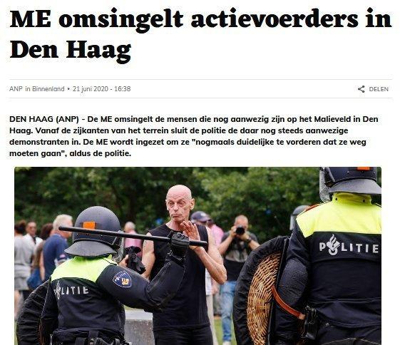Sjon de Haas (screenshot ANP-bericht)